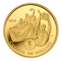 """Go for the Gold"" Olympic coin"